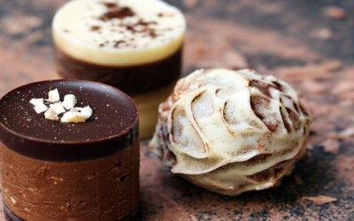 Puistjes van chocola