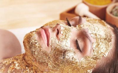 Goud in cosmeticaproducten tegen huidproblemen