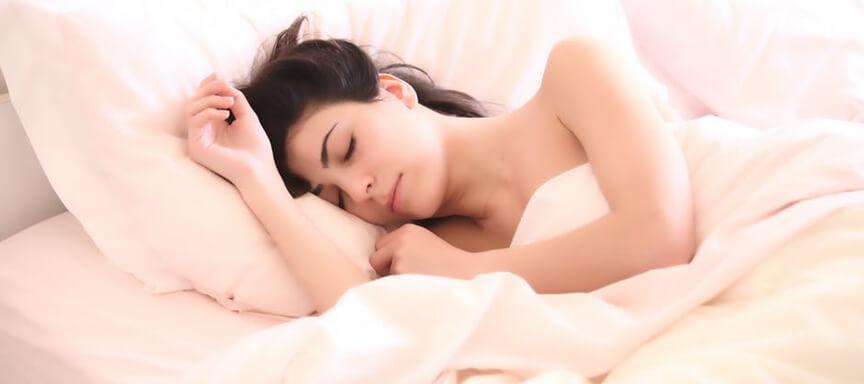 Te weinig slaap zorgt voor een oude, slappe huid